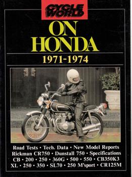 Cycle World On Honda 1971 - 1974 Road Tests (9781869826697)