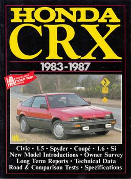 Honda CRX 1983 - 1987 Road Tests (187064204X)