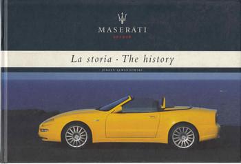 Maserati Spyder: La Storia - The History (B0054JZ5DY) - front