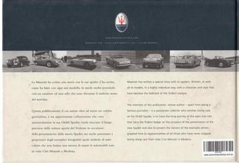 Maserati Spyder: La Storia - The History (B0054JZ5DY) - back