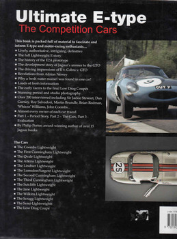 Ultimate E-type: The Competition Cars - back