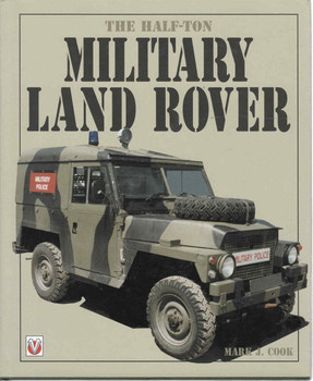 The Half-Ton Military Land Rover (9781903706008) - front