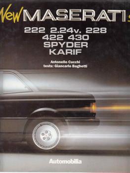 New Maseratis 222, 2.24v. 228 422 430 Spyder Karif (8885880126)