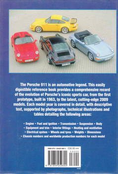 Porsche 911 Source Book: The full specification history, 1963 to 2009 (9781844259694) - back