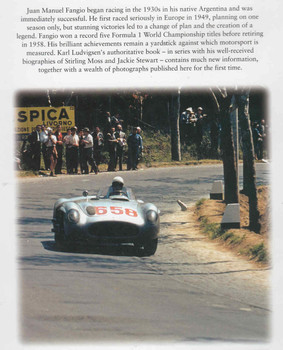 Juan Manuel Fangio Motor Racing's Grand Master (9781859606254) - back