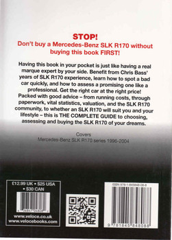 Mercedes-Benz SLK R170 series: The Essential Buyers Guide (9781845848088) - back