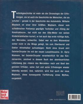 Mythos Maybach (German Text) ( 9783613022751) - back