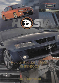 HSV: Holden Special Vehicles 1988 - 2005 (9781876720087)