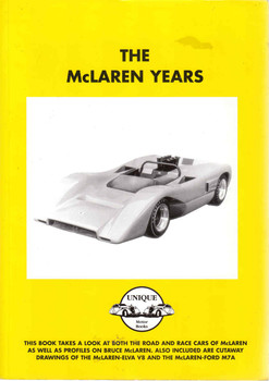 The McLaren Years (Unique Motor Books) (9781841553238) - front