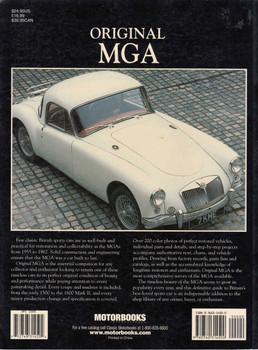 Original MGA The Restorer's Guide Back
