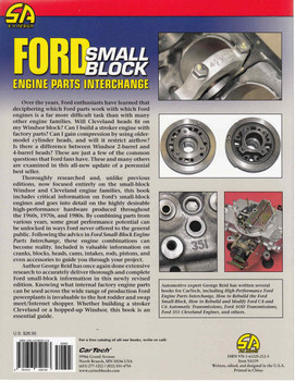 Ford Small Block Engine Parts Interchange Back