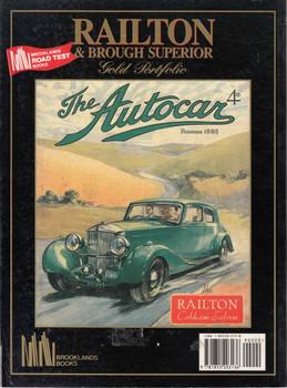Railton & Brough Superior Gold Portfolio 1933 - 1940 (9781855203136)  - back