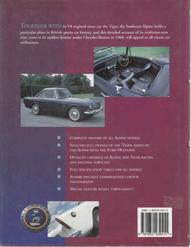 Sunbeam Alpine and Tiger: The Complete Story (9781852239411) - back