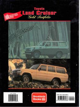Toyota Land Cruiser Gold Portfolio 1956 - 1987 (9781855203983) - back