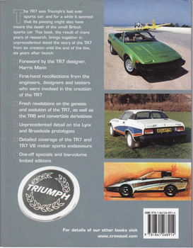Triumph TR7: The Untold Story (9781861268914) - back