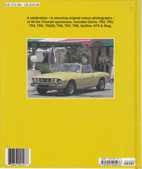 Triumph Sportscars: Colour Family Album (9781901295276) - back