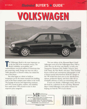 Volkswagen: Illustrated Buyer's Guide (Second Edition) (9780760305744) - back