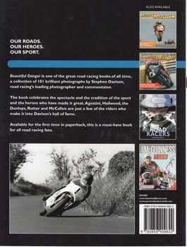 Beautiful Danger: 101 Great Road Racing Photographs (Paperback Edition) (9780856409622) - back