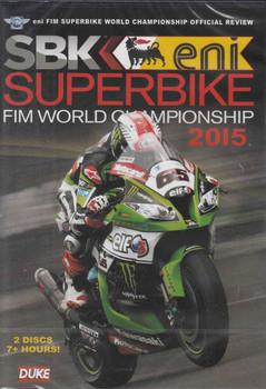 SBK Superbike FIM World Championship 2015 DVD ( 5017559126162) - front