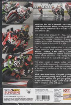 SBK Superbike FIM World Championship 2015 DVD ( 5017559126162) - back