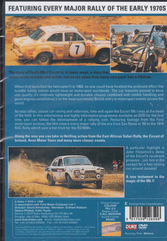 The story Of The MK1 Escort DVD (5017559126506) - back