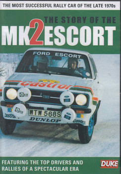 The Story Of The Mk 2 Escort DVD (5017559126513)  - front