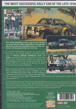 The Story Of The Mk 2 Escort DVD (5017559126513)  - back
