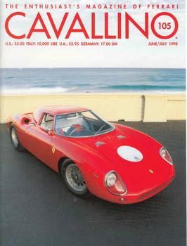 Cavallino The Enthusiast's Magazine of Ferrari Number 105 (CAV105)