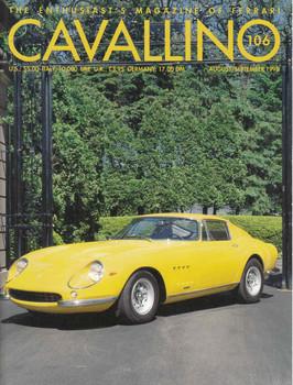 Cavallino The Enthusiast's Magazine of Ferrari Number 106 (CAV106)