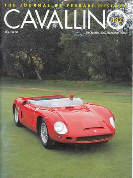 Cavallino The Enthusiast's Magazine of Ferrari Number 132 December 2202 / January 2003 (CAV132)