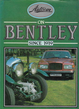 Autocar on Bentley since 1919 ( 978187097903) - front