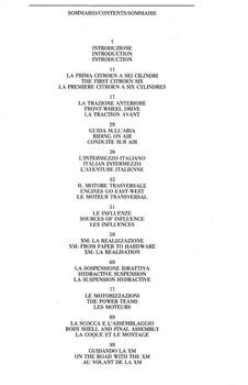 Citroen XM (Automobilia) ( 9788885880184) - cont