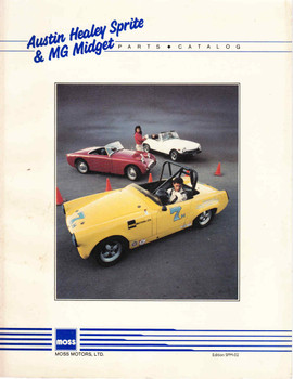Austin Healey Sprite & MG Midget Parts Catalog (SPM02) - front