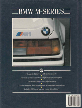 BMW M-Series The Complete Story (9781852236786) - back