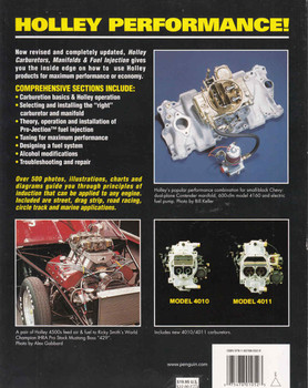 Holley Carburetors: Manifolds & Fuel Injection Revised & Updated 4th Edition (075478010523) - back