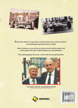 Mount Druitt To Monza: Motor Racing on a Shoestring Budget (Signed by Frank Gardner and Author) (B10986B) - back