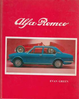 Alfa Romeo (Evan Green) (9780959663709) - front