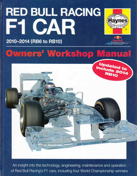 Red Bull Racing F1 Car 2010-2014 (RB6 to RB10) Owners' Workshop Manual (9780857338013) - front