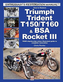 How to Restore Triumph Trident T150/T160 & BSA Rocket III: Enthusiast's Restoration Manual (9781845848828)