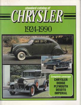 Standard Catalog of Chrysler 1924-1990 (9780873411424) - front