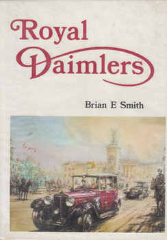 Royal Daimlers Brian E Smith (9780851840192) - front