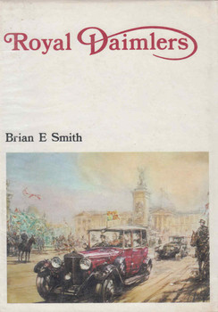 Royal Daimlers Brian E Smith (9780851840192) - back