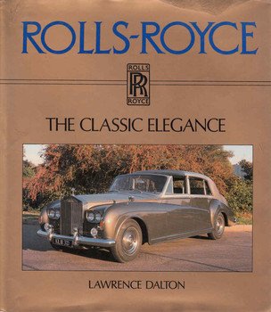 Rolls-Royce : The Classic Elegance (9780901564283) - front