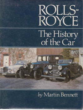 Rolls-Royce: The History of the Car (2nd Revised Edition) (9780946609000) - front