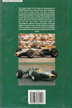 Jim Clark: The Legend Lives On (3rd Edition with colour section) (9781852601447) - back