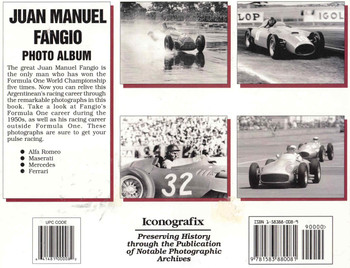 Juan Manuel Fangio Photo Album (9781583880081) - back