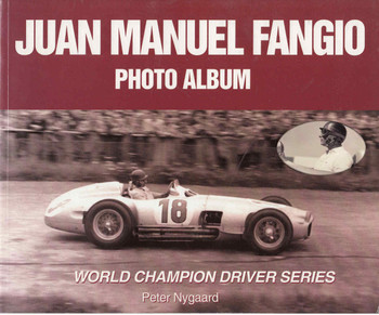 Juan Manuel Fangio Photo Album (9781583880081) - front
