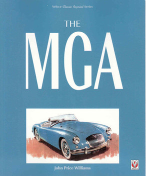 The MGA (Veloce Reprint Series) (9781845849627) - front