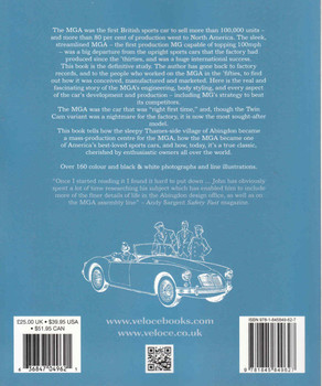 The MGA (Veloce Reprint Series) (9781845849627) - back