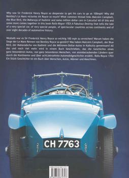 Rolls-Royce 17EX: A Fabulous Destiny (9789350872727)  -back